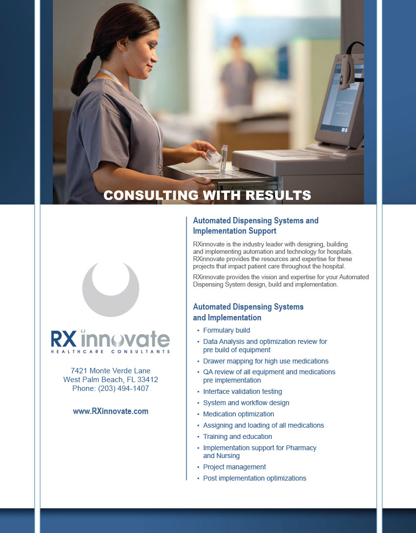 RXinnovate Consulting
